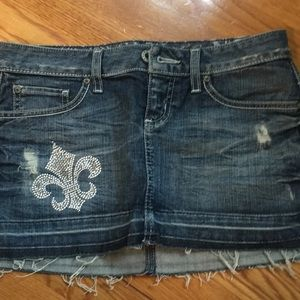 Guess jeans mini skirt